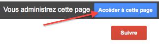 Accéder à cette page Google+