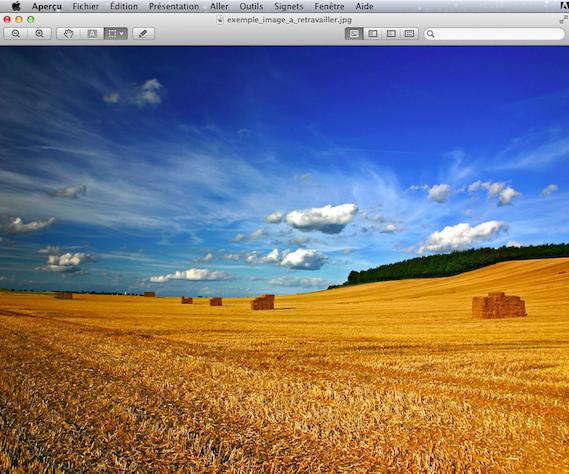 Le logiciel Aperçu sur Mac