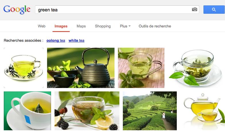 Recherche dans Google Images