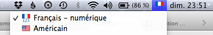 Choisir le clavier américain ou français sur votre Mac