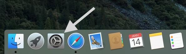 Ouvrez les Préférences Systèmes de votre Mac